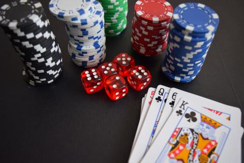 Soirée au casino