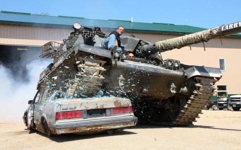 Safari en Tank
